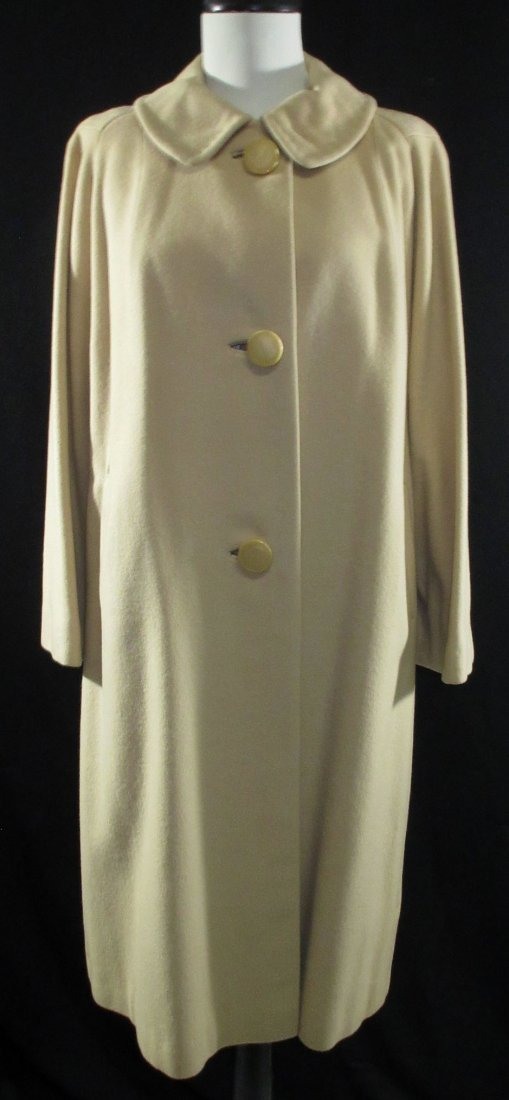 1960's Cashmere Dress Coat