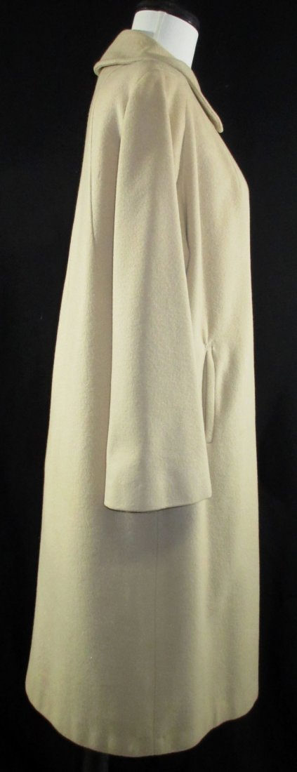 1960's Cashmere Dress Coat - 3