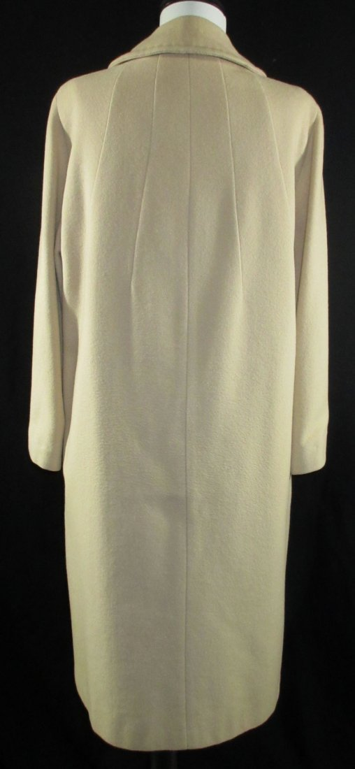 1960's Cashmere Dress Coat - 4