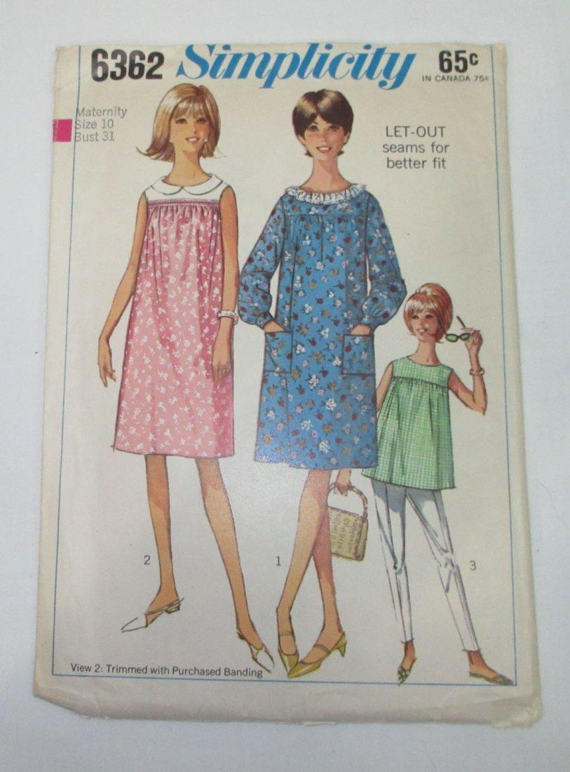 """3 Vtg 60's Dress & Coat Patterns, Bust 30/31"""" - 4"""