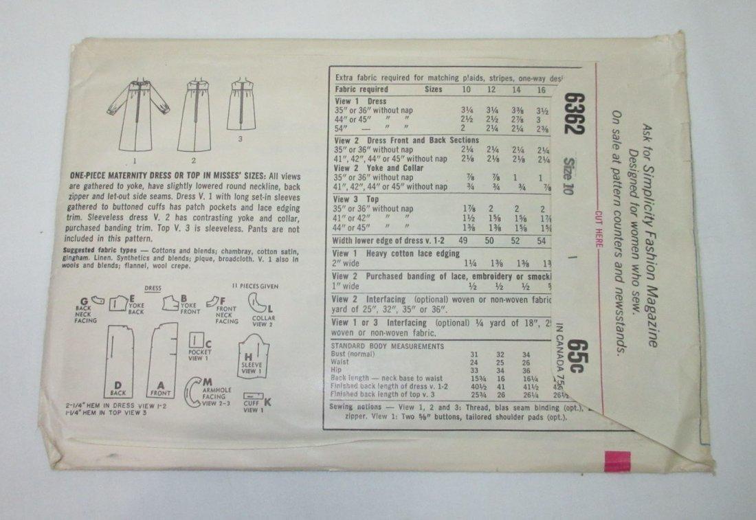 """3 Vtg 60's Dress & Coat Patterns, Bust 30/31"""" - 5"""