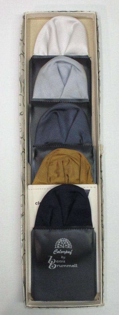 Beau Brummel Pocket Puff 5pc Boxed Set