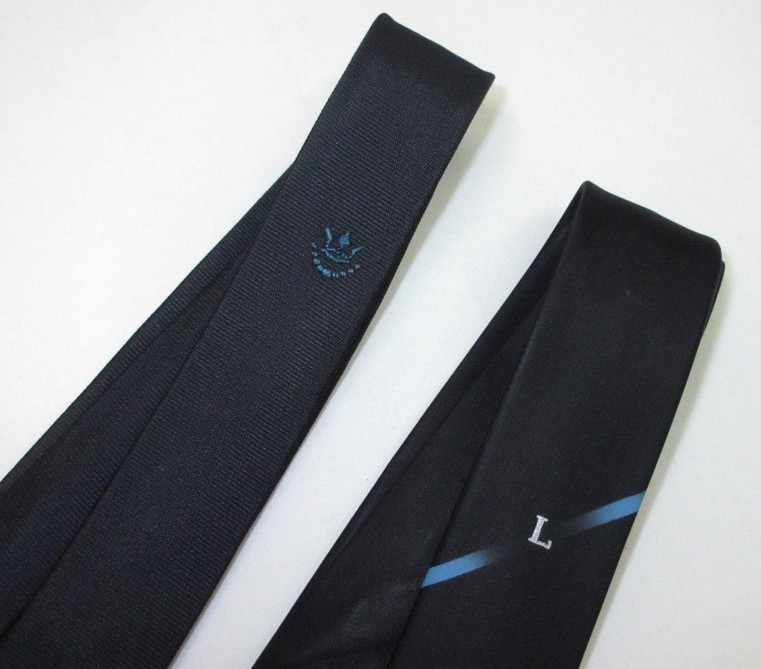 2 Super Skinny 60's Acetate Men's Tie's - 2