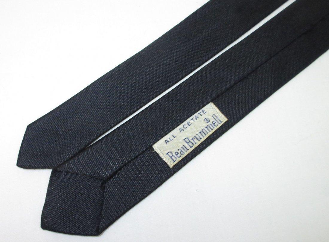 2 Super Skinny 60's Acetate Men's Tie's - 4