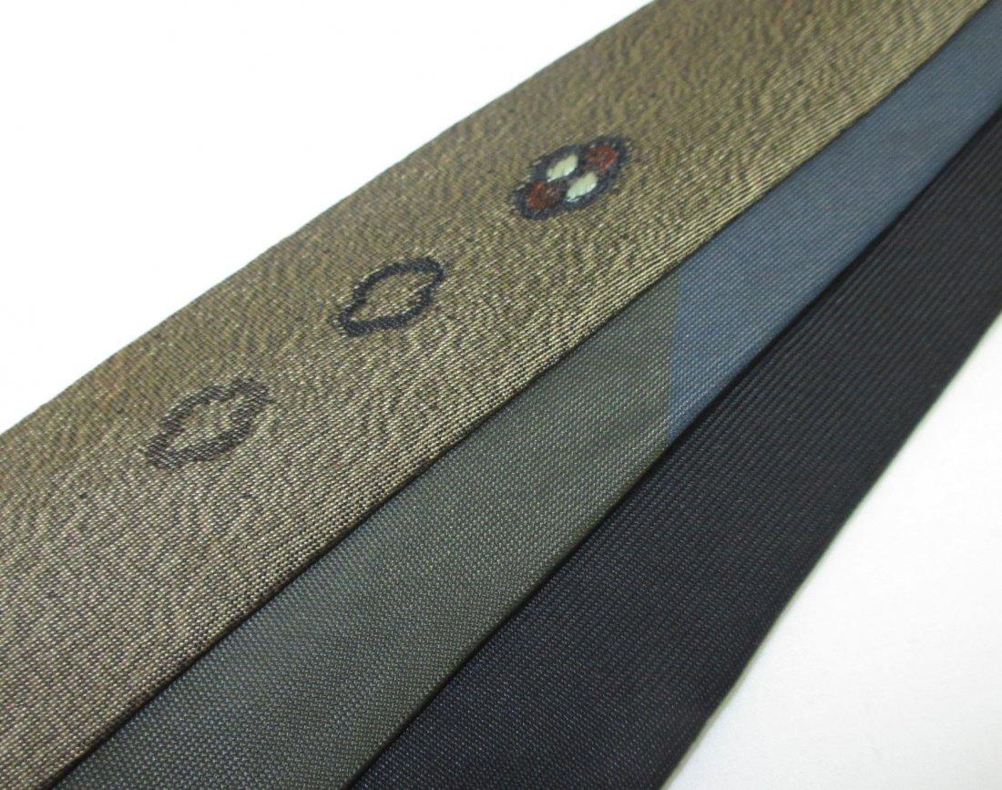 3 Wembley 60's Skinny Men's Tie's - 3