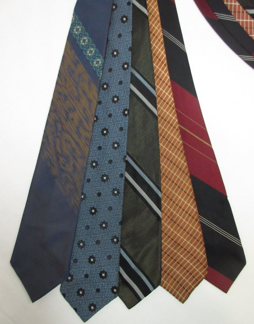 5 Vtg. Classic 1960's Men's Tie's - 2