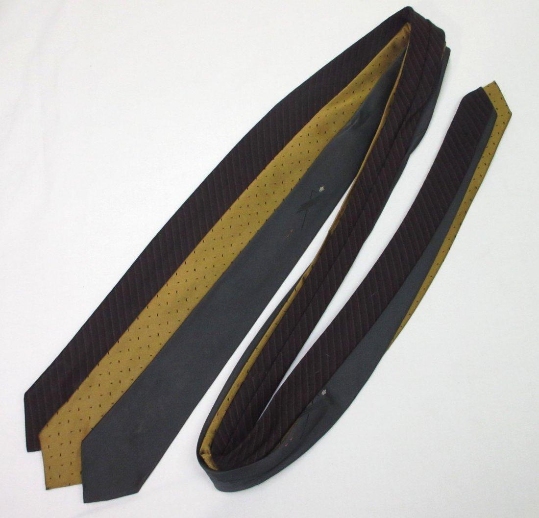 Vtg Arrow & Silk 3pc Men's Tie's