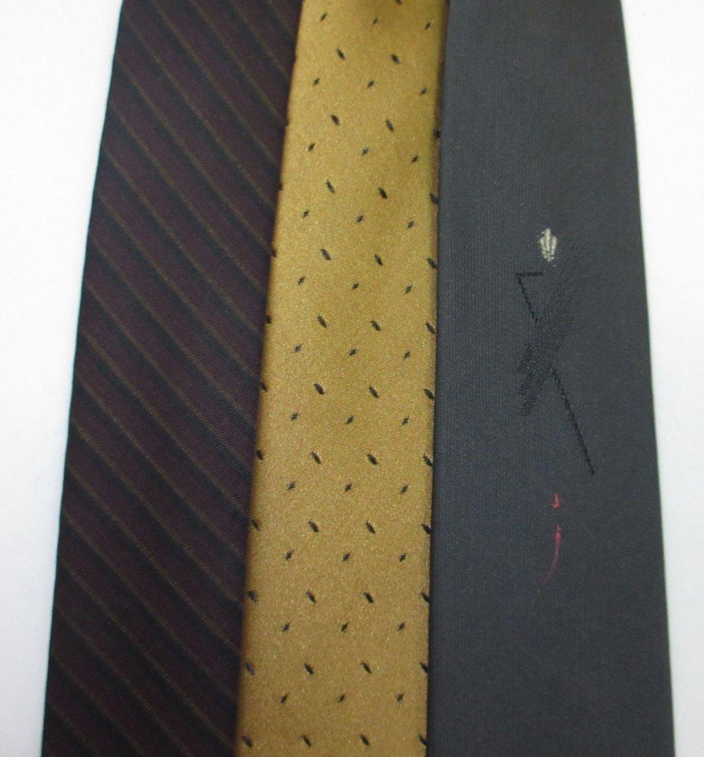 Vtg Arrow & Silk 3pc Men's Tie's - 3