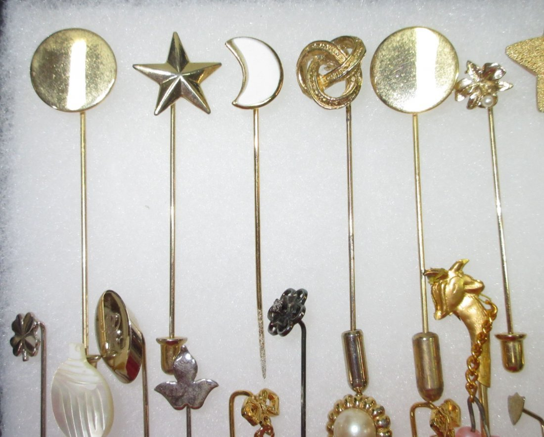 23 Various 70's Stick Pins - 2
