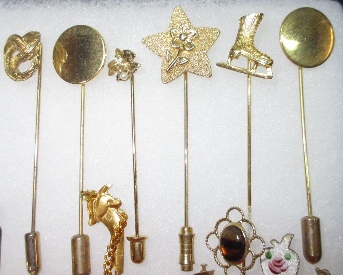 23 Various 70's Stick Pins - 3
