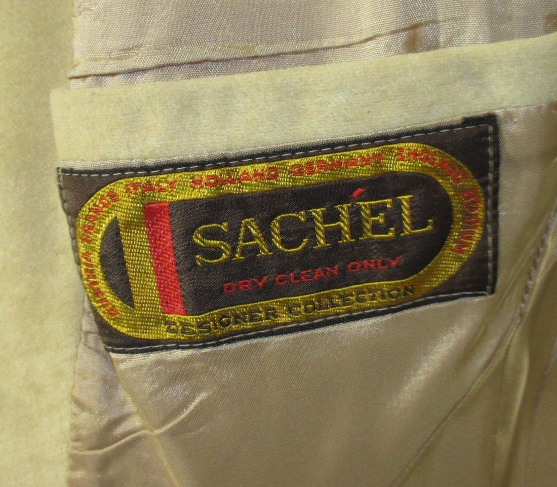 Sachel' Brushed Buff Suede Ladies Blazer - 7