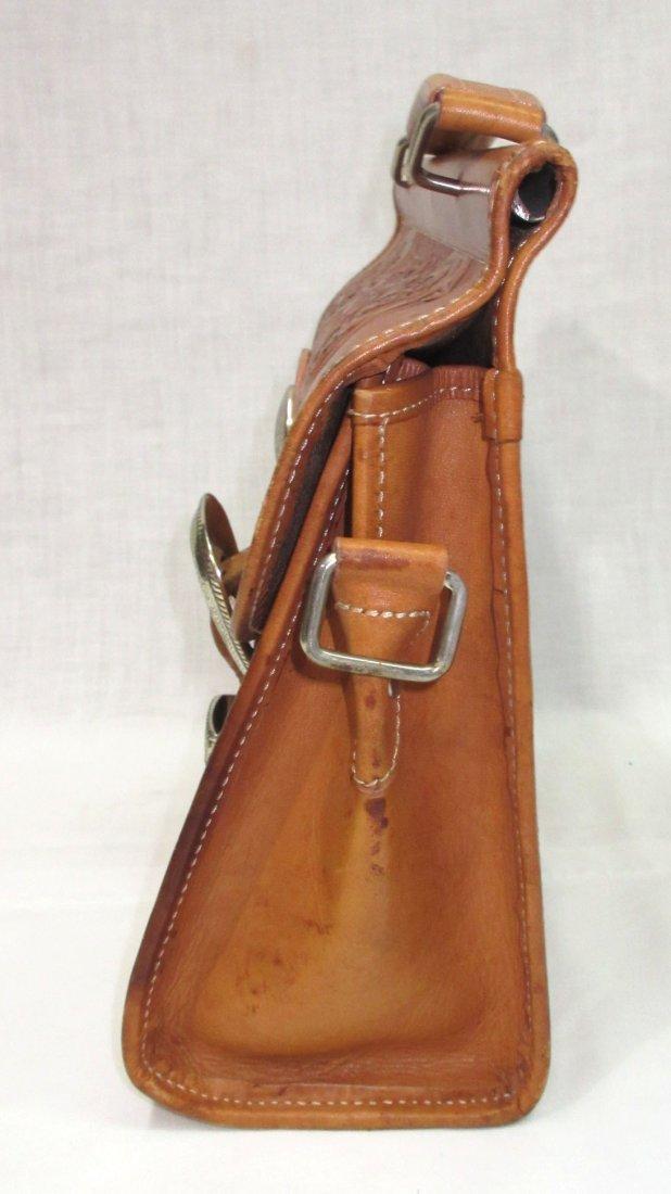 Hand Tooled Western Leather Nocona Purse - 3