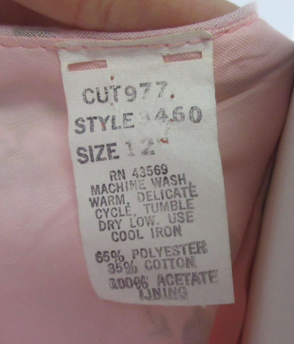 Pink 70's Floral Maxi Dress - 8