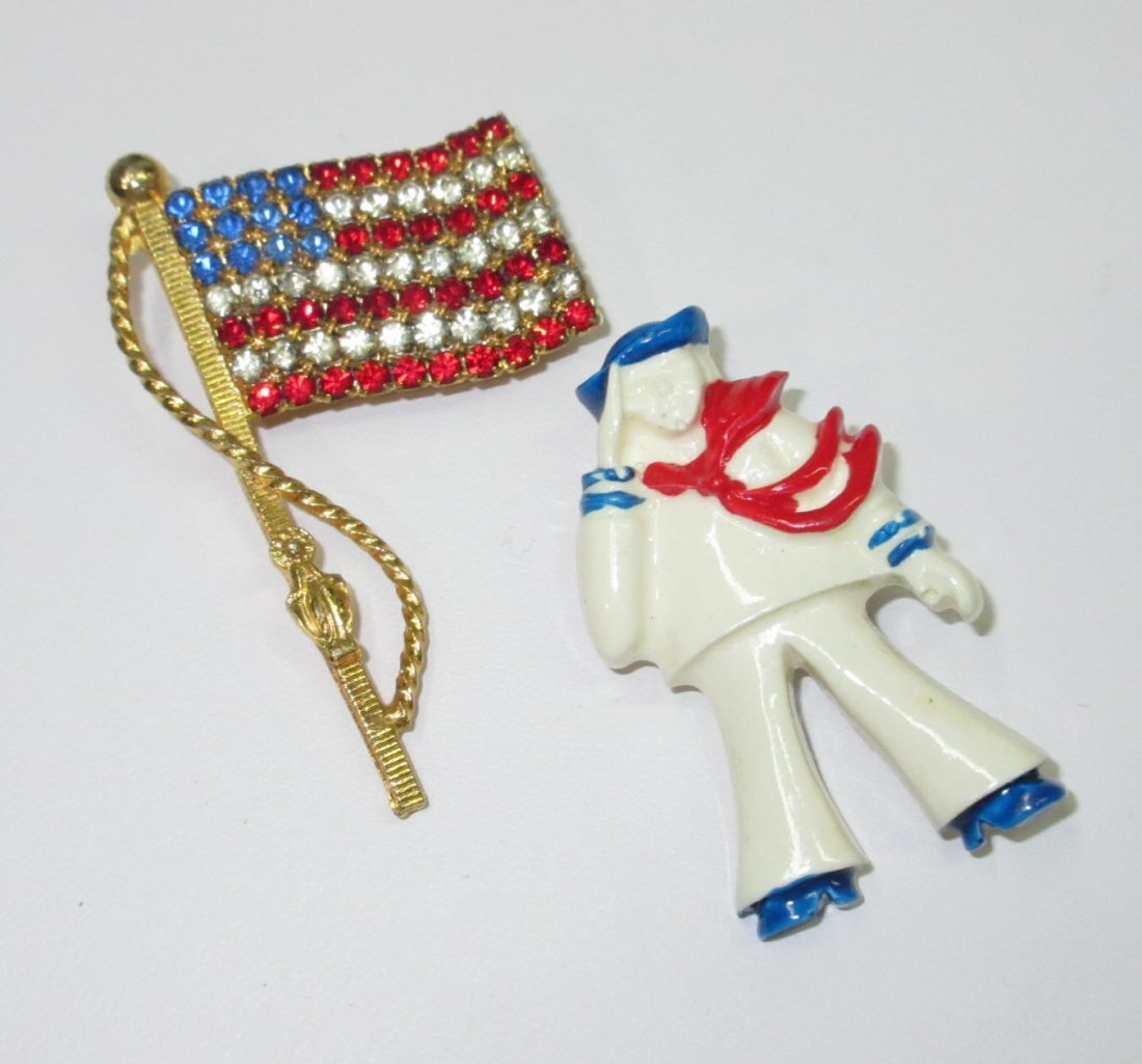 70's Patriotic Jewelry Collection- 4pc - 3