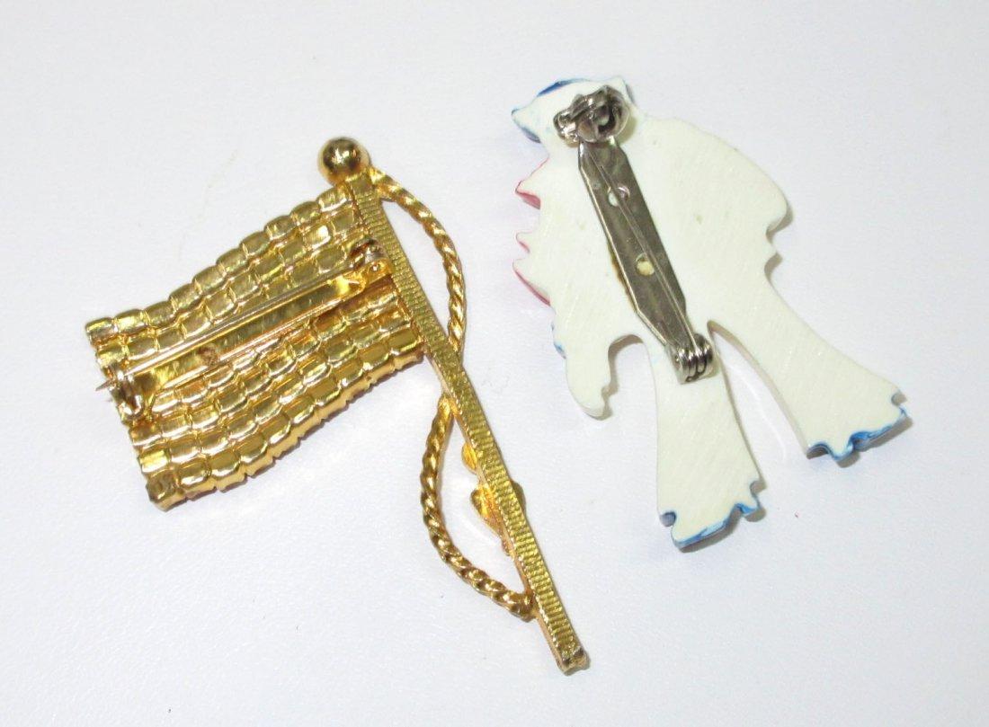 70's Patriotic Jewelry Collection- 4pc - 4