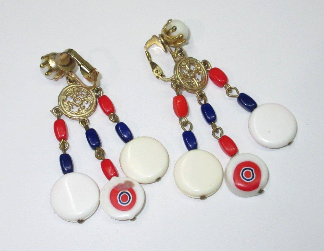 70's Patriotic Jewelry Collection- 4pc - 5