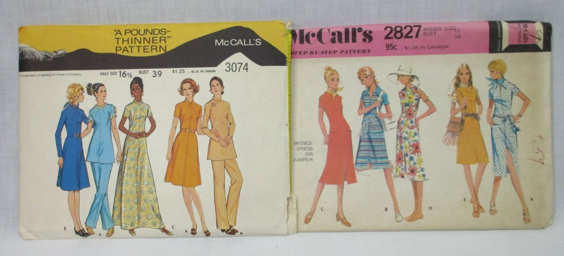 """10 Great 70's Bust 38"""" Dress/Pant Patterns - 4"""