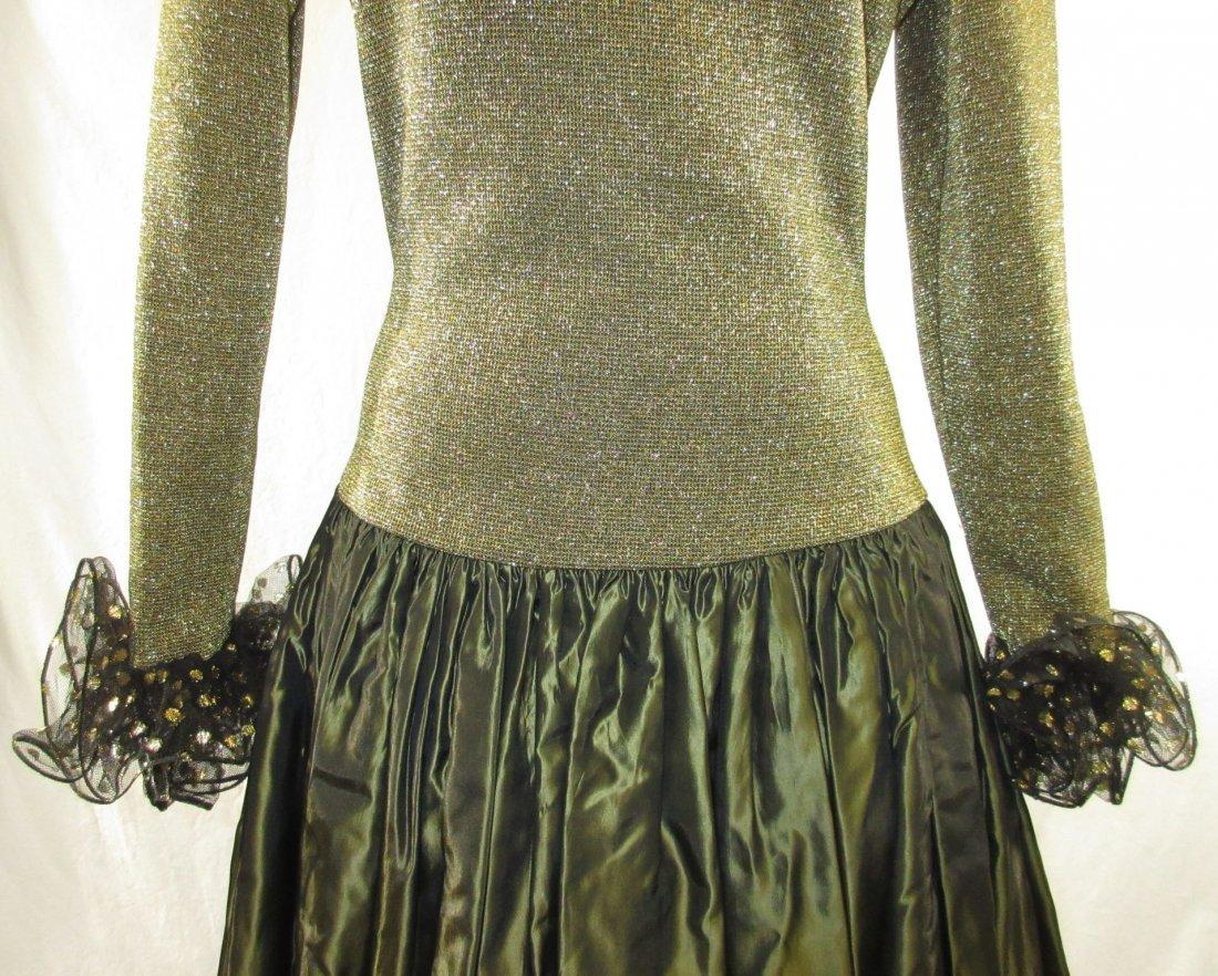 Stunning Oscar De LaRenta Formal 1980's Gown - 4
