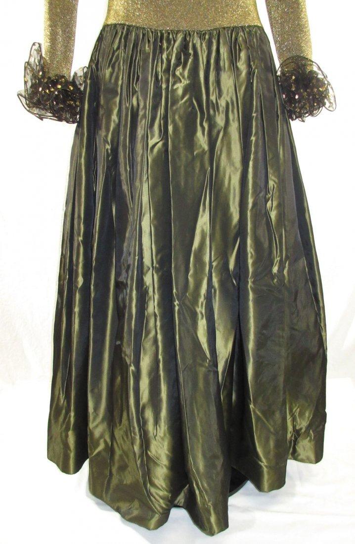 Stunning Oscar De LaRenta Formal 1980's Gown - 5