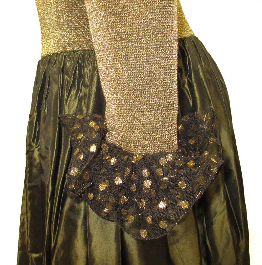 Stunning Oscar De LaRenta Formal 1980's Gown - 7