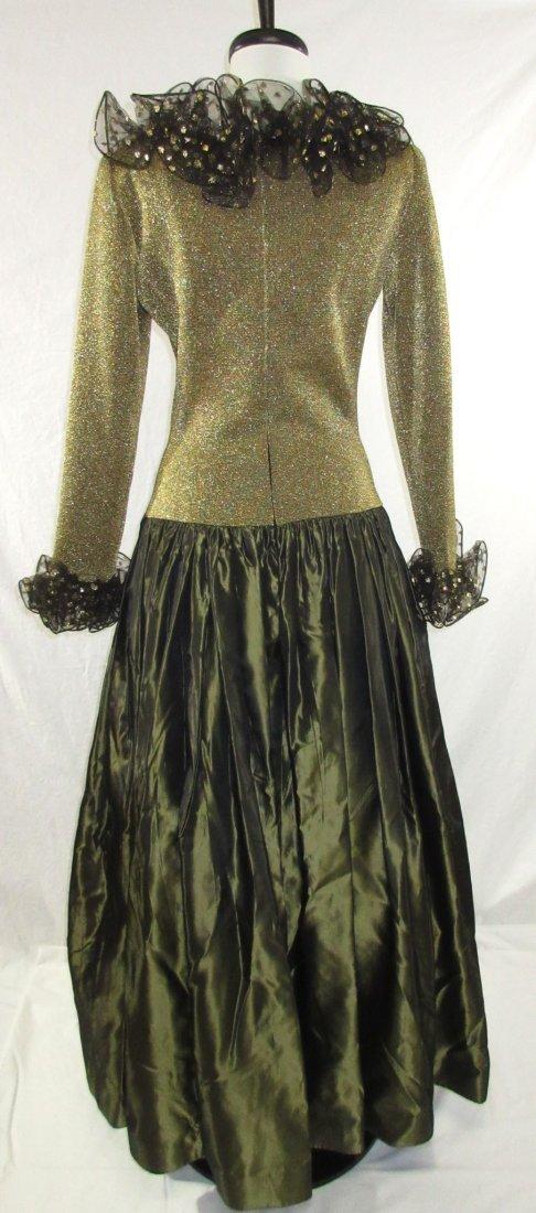 Stunning Oscar De LaRenta Formal 1980's Gown - 8