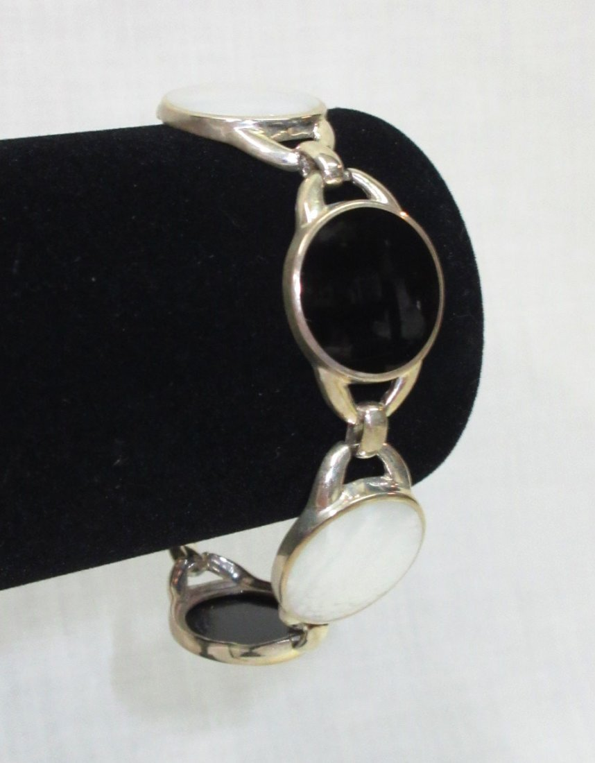Sterling & MOP Bracelet