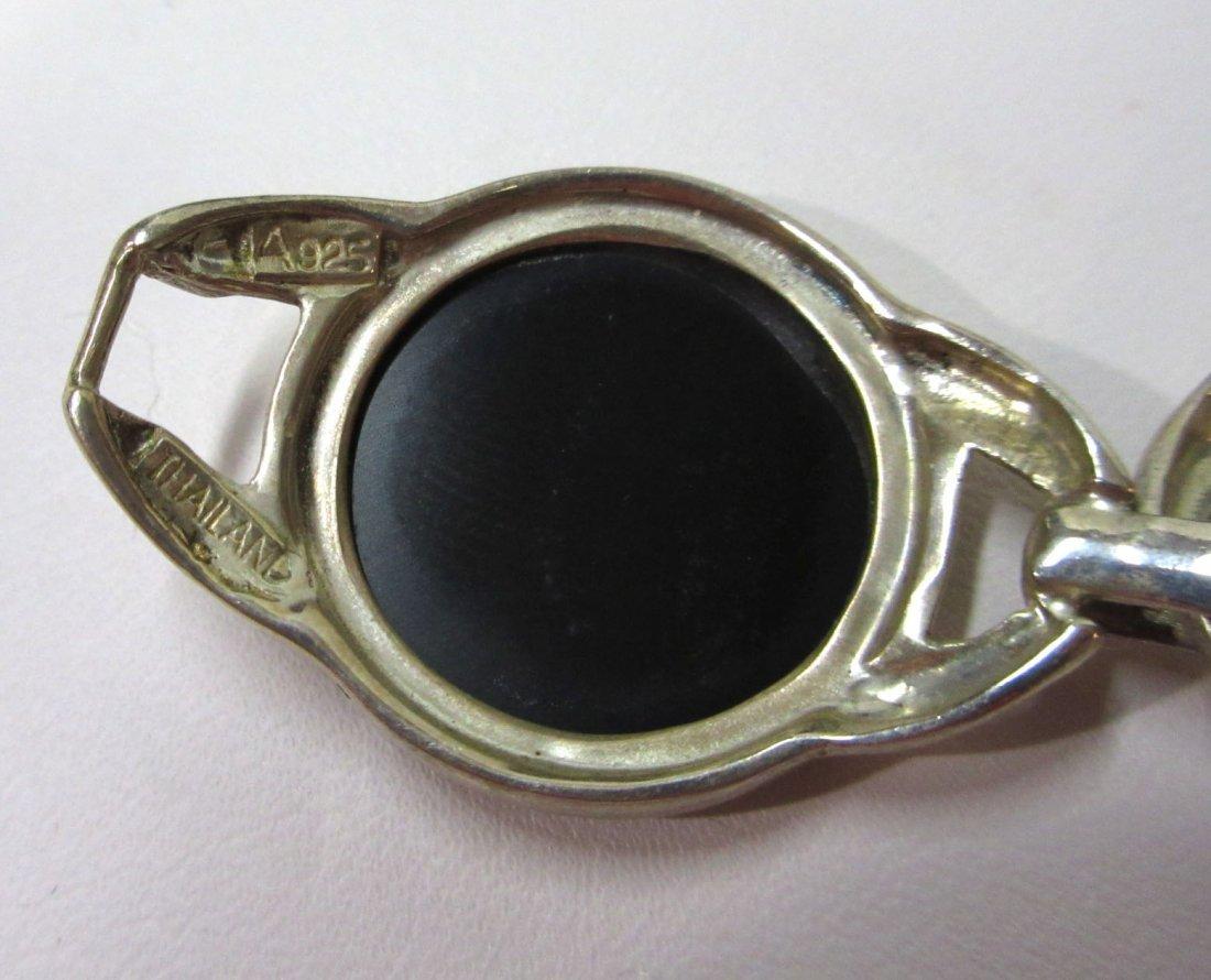 Sterling & MOP Bracelet - 5