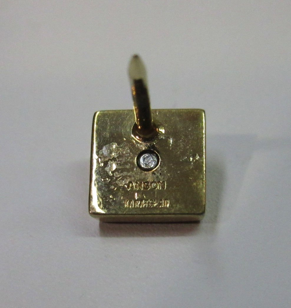 Anson Karatclad Diamond Tie Tack - 3