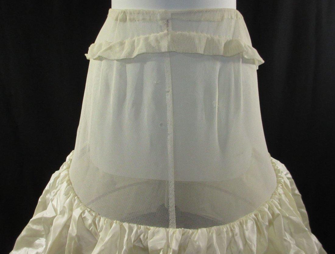 1900's Replica Triple Hoop Skirt - 3