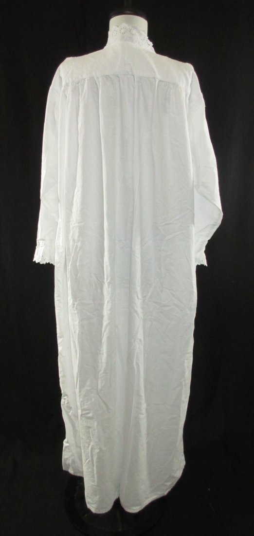 2 Lovely Edwardian Cotton English Nightgowns - 5