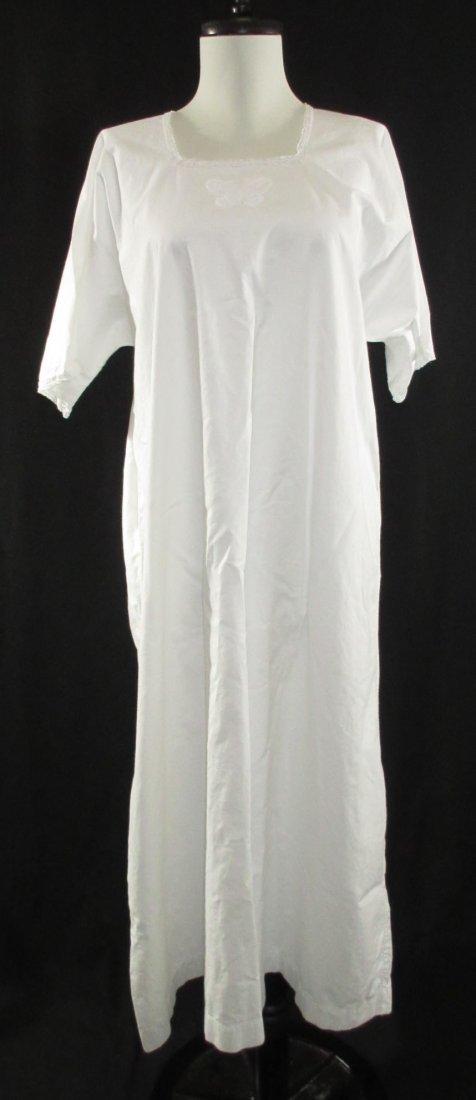 Vtg. Ladies Cotton Nightgown's, 2pc - 2