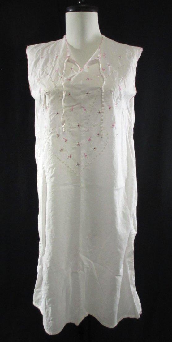 Vtg. Ladies Cotton Nightgown's, 2pc - 5