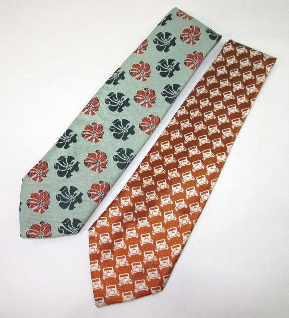 2-1940's Men's Necktie's