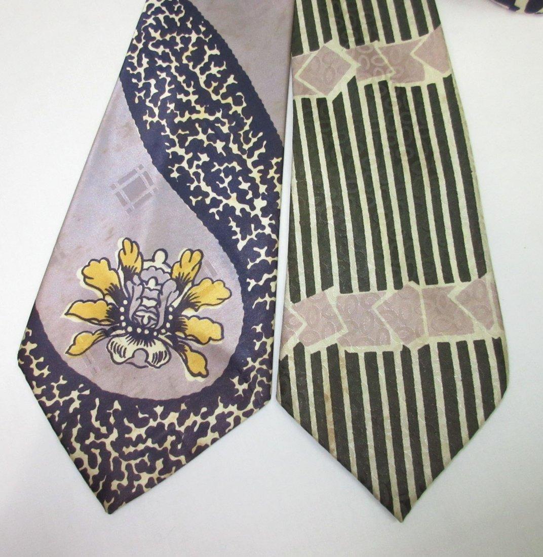 Classic Silky 40's Men's Necktie's - 2