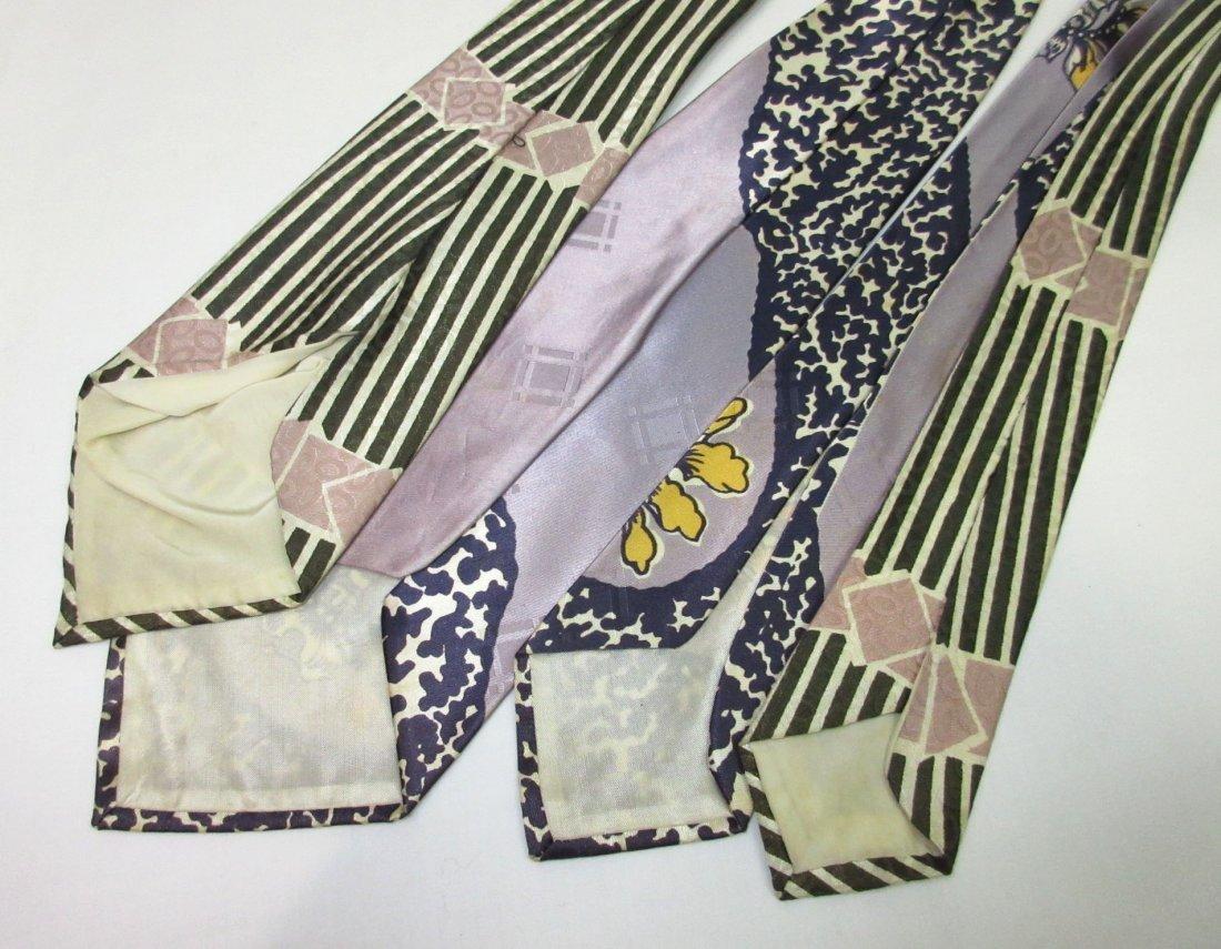 Classic Silky 40's Men's Necktie's - 3