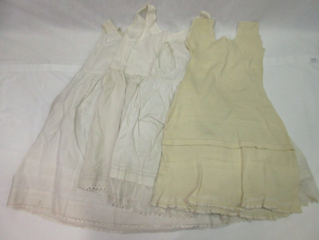 Early Girl's Edwardian Dress Slips - 7pc
