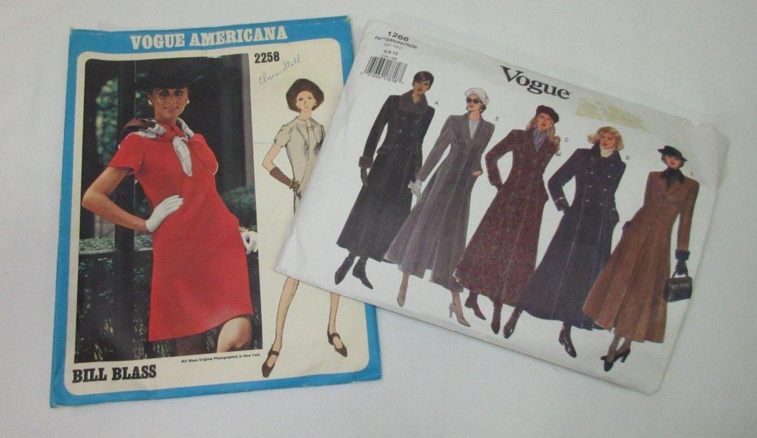 1980's-90's Vogue & Asst. Dress Patterns - 4