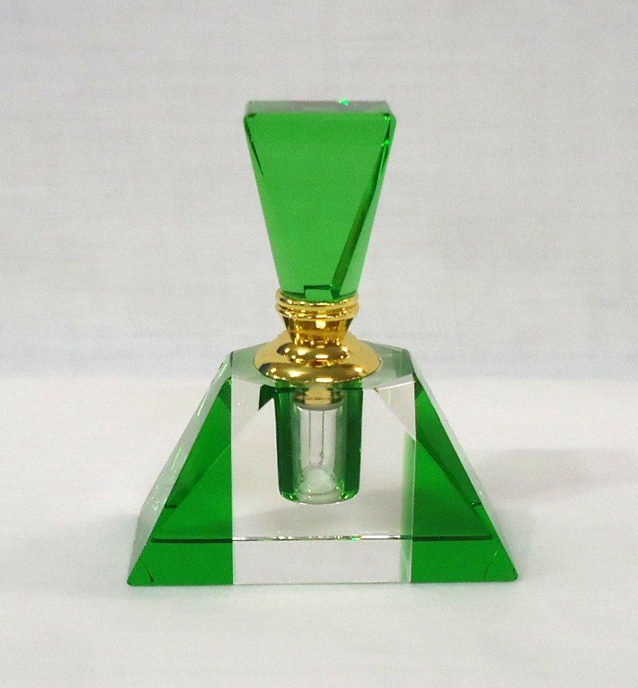 Green Crystal Perfume Bottle