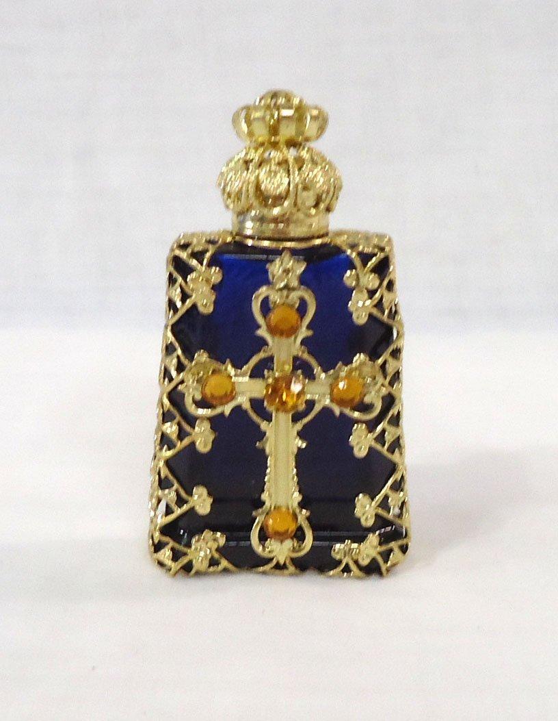 Ornate Perfume/Holy Water Bottle
