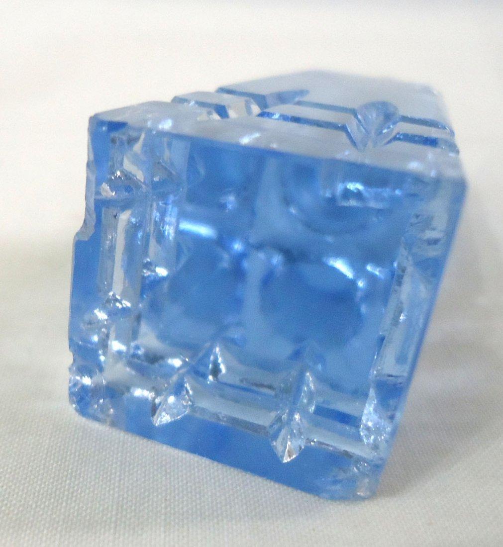 Blue Perfume Bottle - 3