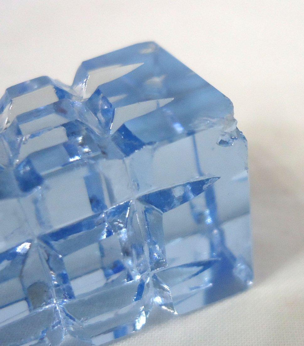 Blue Perfume Bottle - 4