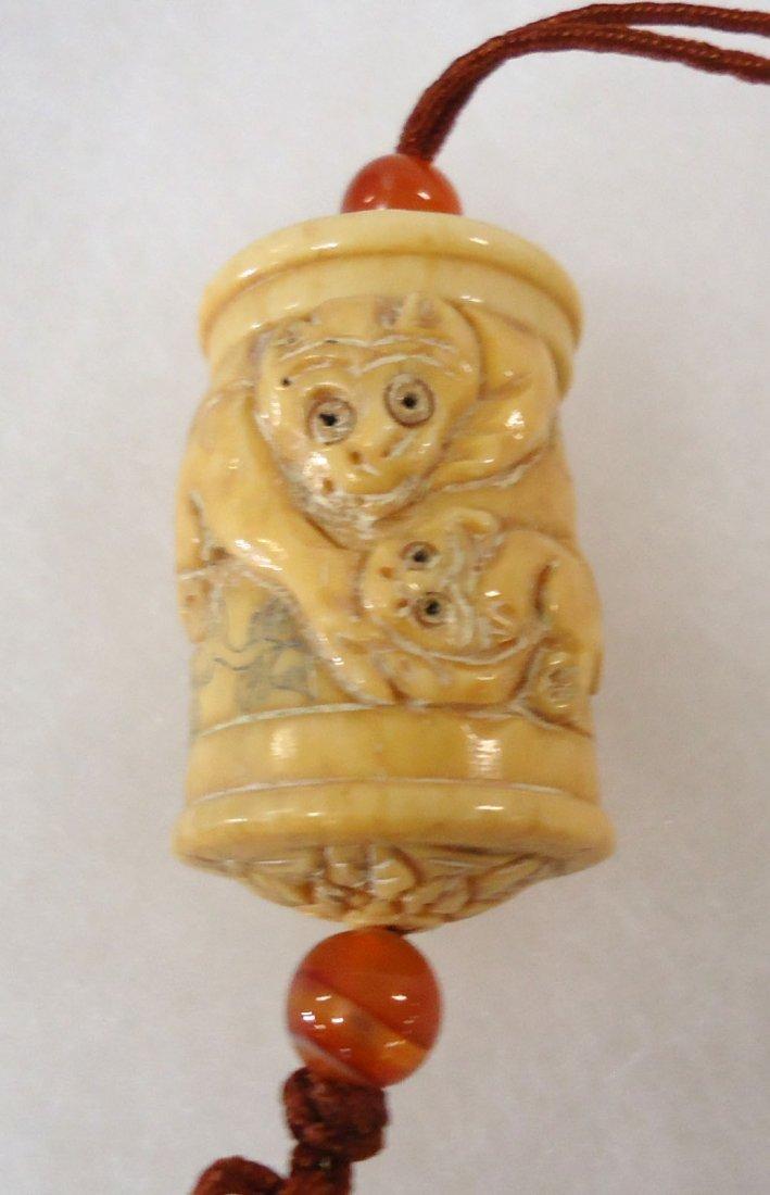 Carved Bone Inri - 3