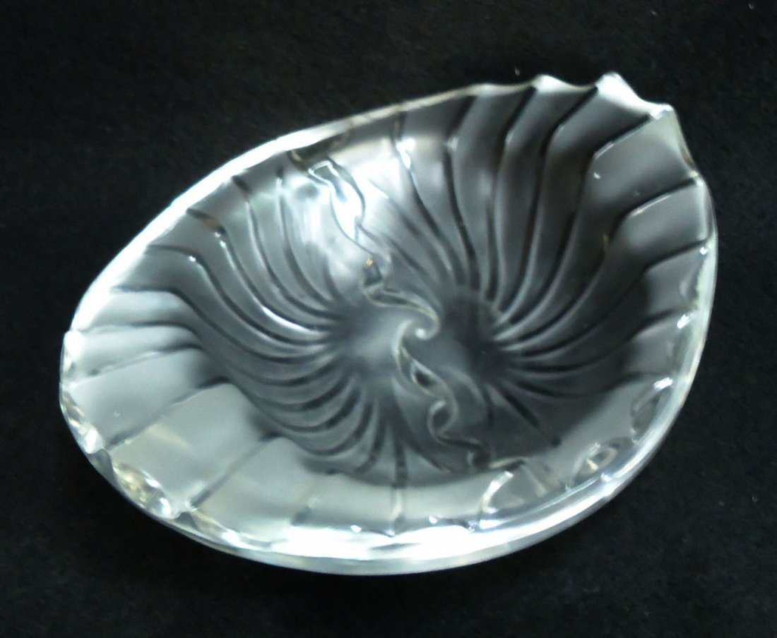Sgnd. Lalique France Bowl - 2