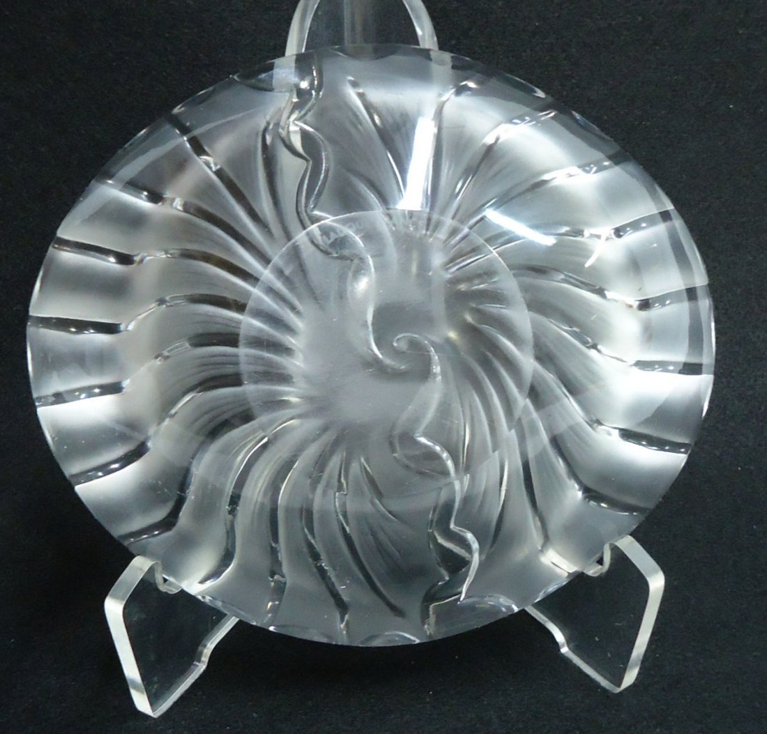 Sgnd. Lalique France Bowl - 3