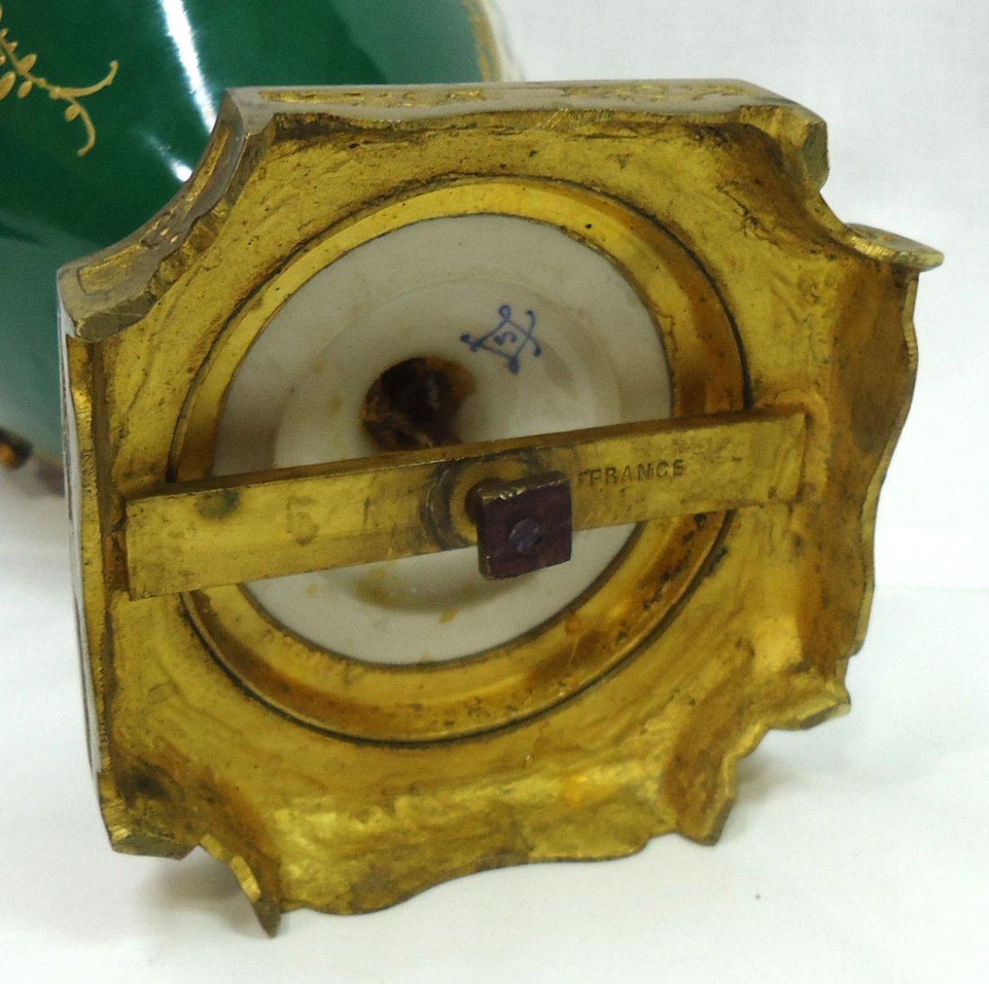 Sgnd. Sevres H.P. Vase - 6