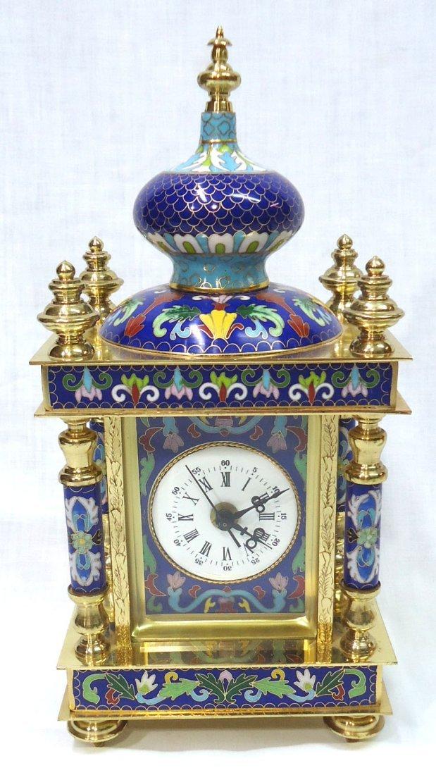 Cloisonné Clock