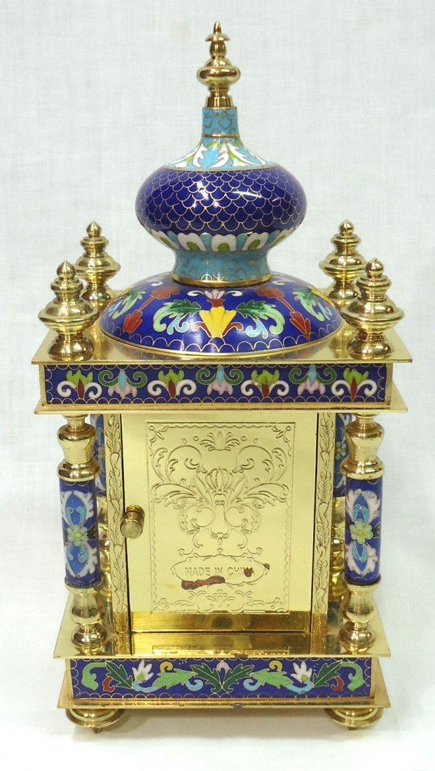 Cloisonné Clock - 3