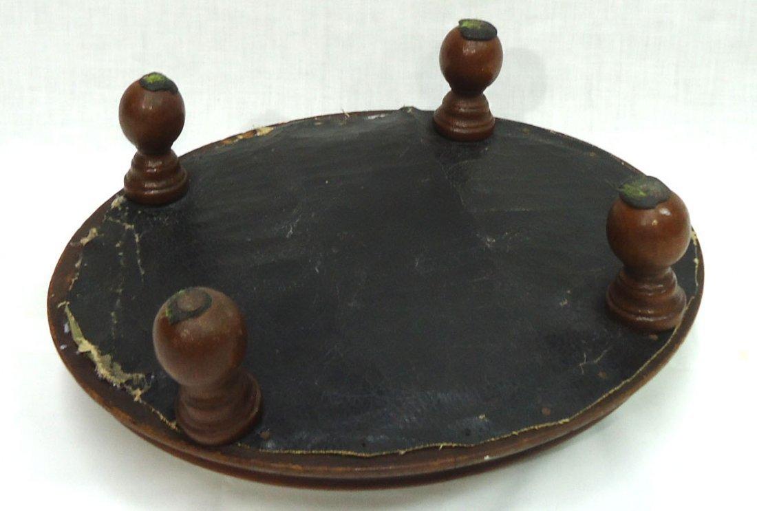 Victorian Walnut Needlepoint Footstool - 3