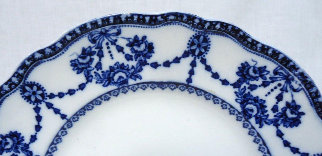 """Victorian Flow Blue Plate """" Cambridge"""" - 2"""