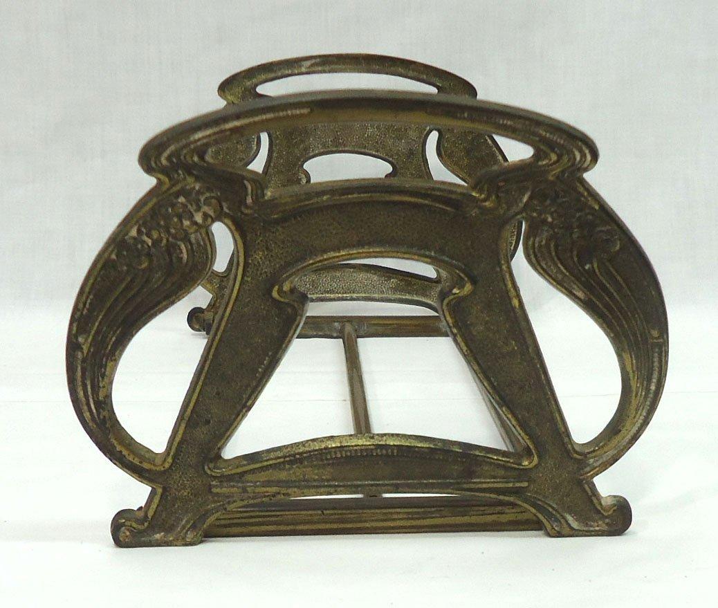 Art Nouveau Expandable Book Rack - 2